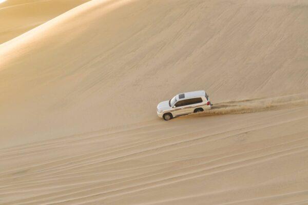 Dune bashing au Qatar