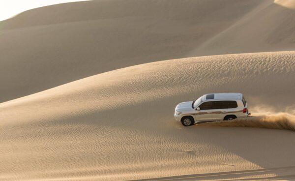 Dunes vers Khor al Adaid au Qatar