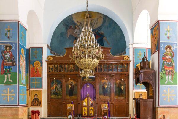 Eglise à Madaba en Jordanie