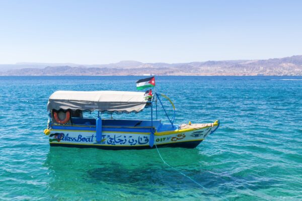 Glass boat à Aqaba en Jordanie