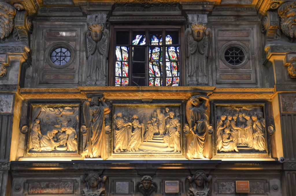 Intérieur du dôme de Milan