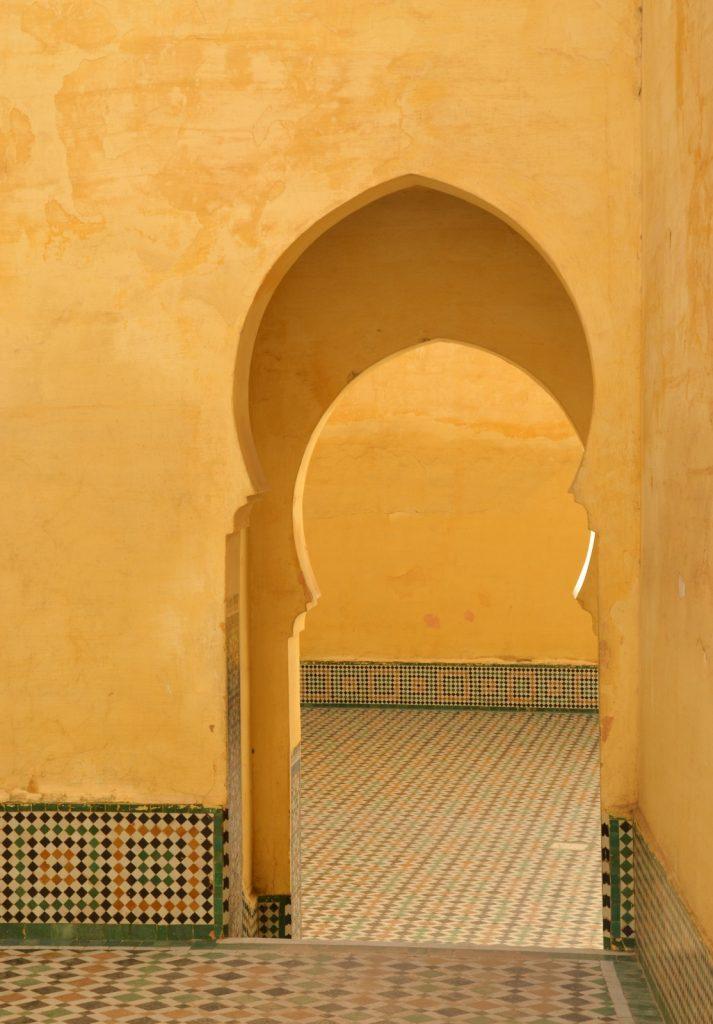 Mausolée de Moulay Ismail à Meknès