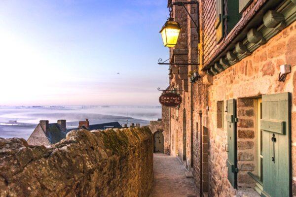 Passer une nuit au Mont Saint Michel