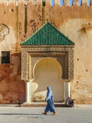 Place Lahdim à Meknes au Maroc
