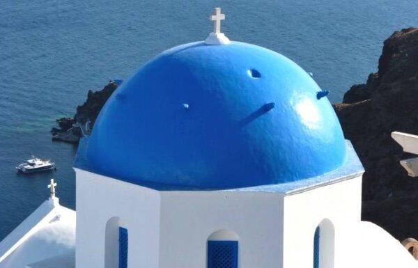 Se loger à Santorin en Grèce
