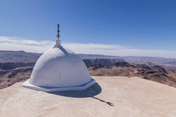 Tombeau d'Haroun en Jordanie