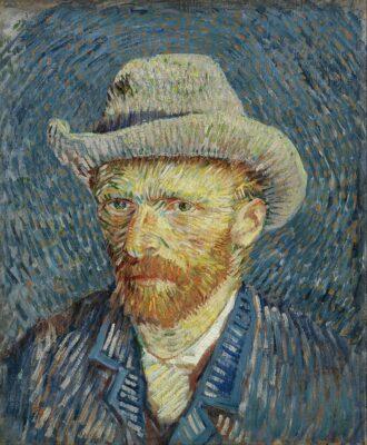 Autoportrait de Van Gogh au Van Gogh Museum d'Amsterdam