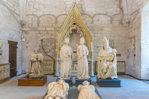 Visite de l'intérieur du palais des Papes à Avignon
