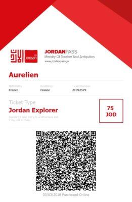Jordan Pass, visa et pass touristique
