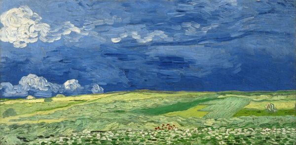 Peinture de Van Gogh au Musée Van Gogh d'Amsterdam