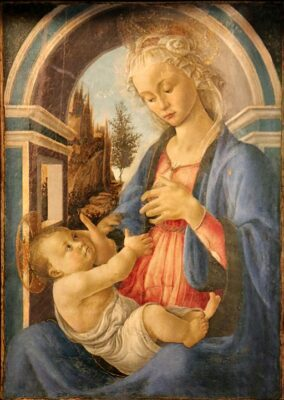 Vierge et l'Enfant de Botticelli au Petit Palais d'Avignon