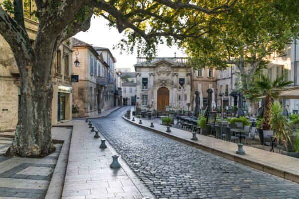 Ruelle de la vieille de la cité des Papes