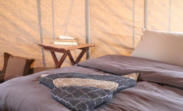 Campement de luxe dans le désert à Oman