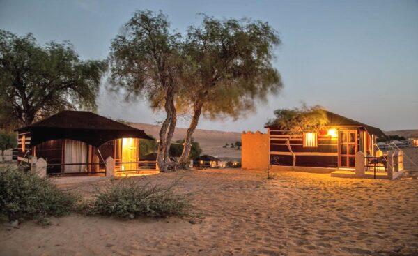 Campement dans le désert Wahiba Sands