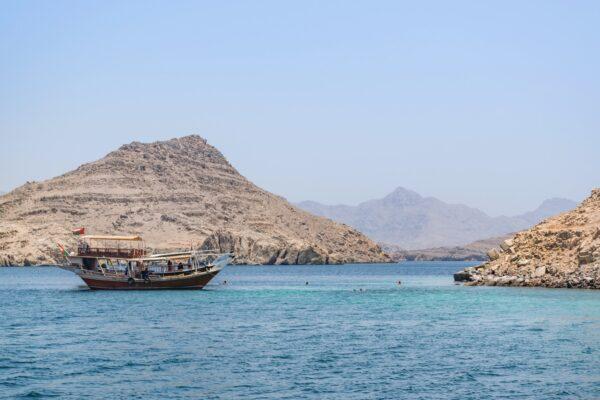 Croisière dans les fjords à Oman