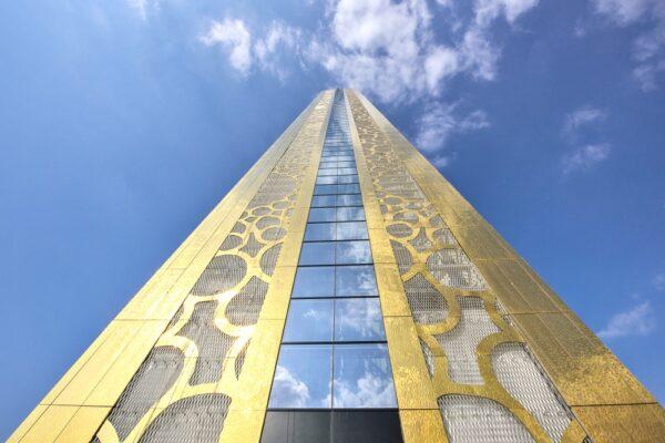 Structure de Dubai Frame