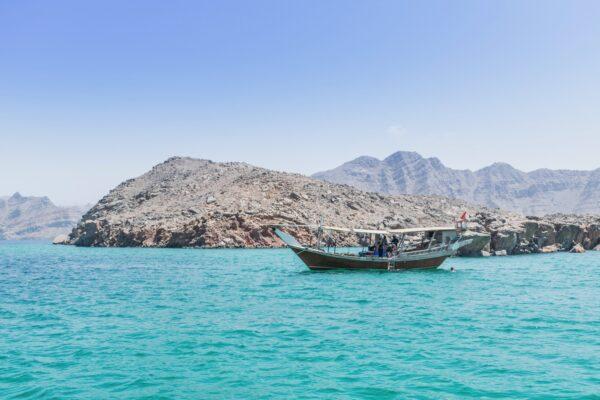 Fjord d'Oman ou fjord d'Arabie