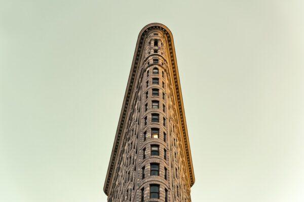 Gratte-ciel Flatiron Building à New York