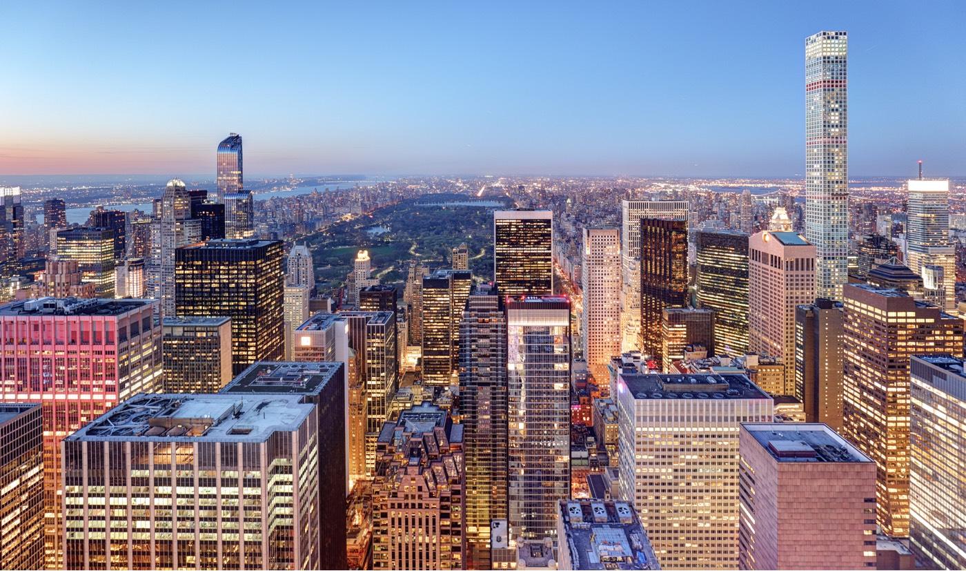 Gratte ciel à New York