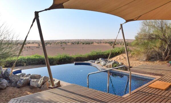 Hôtel dans le désert de Dubaï