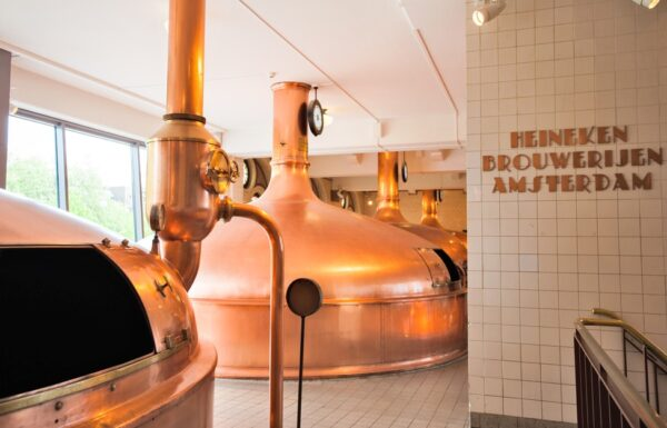 Musée Heineken Experience à Amsterdam