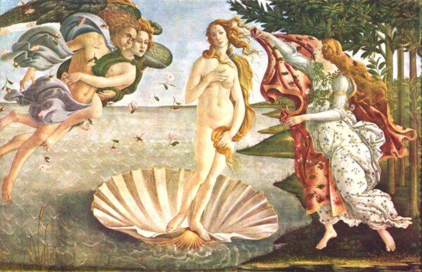 Naissance de Vénus de Botticelli
