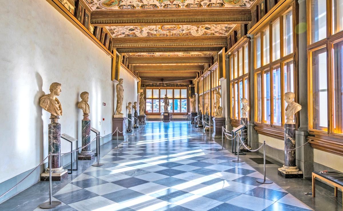 Galerie des offices infos r servation pour le mus e - Musee des offices florence reservation ...