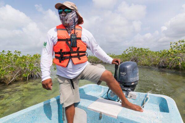 Réserve de Sian Ka'an - Yucatan au Mexique