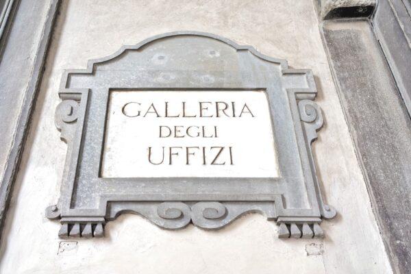 Uffizi à Florence, la galerie des Offices