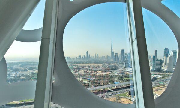Vue depuis Dubai Frame