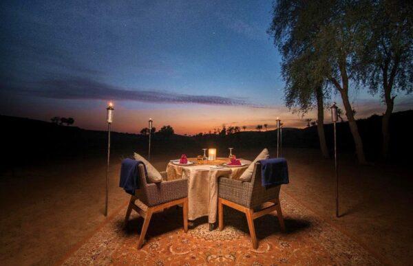 Al Wadi Desert, hôtel dans le désert