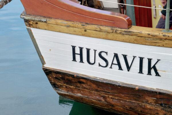 Baleine à Húsavík