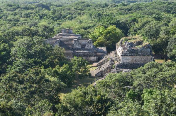 Ek Balam, ruines maya dans le Yucatan