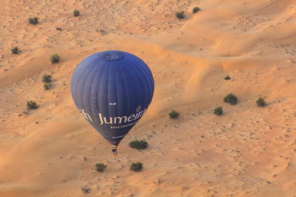 Montgolfière à Dubaï