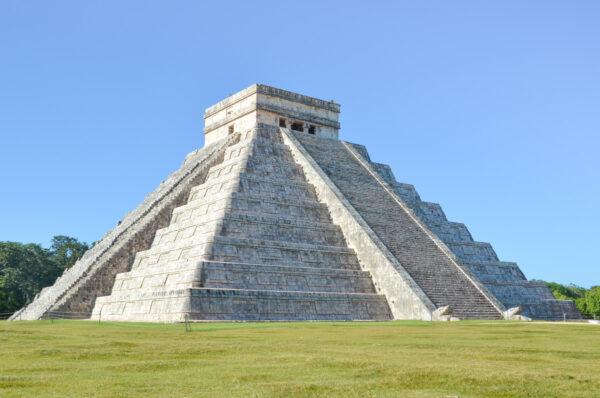 Site archéologique maya de Chichen Itza dans le Yucatan