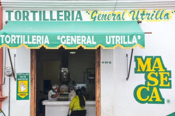 Tortilla dans le Yucatan