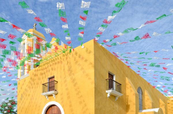 Ville coloniale du Yucatan