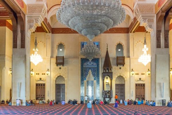 Blue mosque à Beyrouth