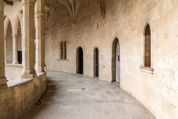 Visite d'un château à Majorque
