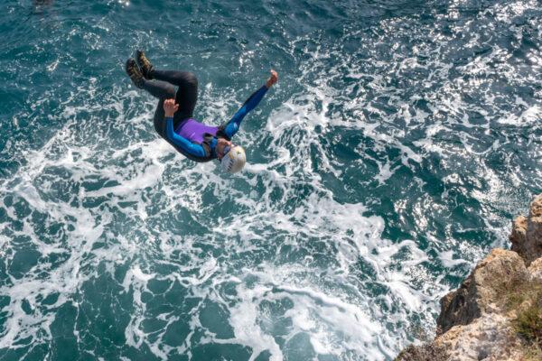 Coasteering à Majorque