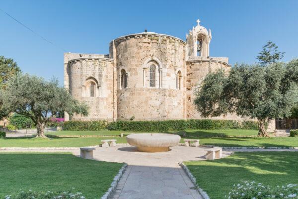 Eglise à Byblos au Liban