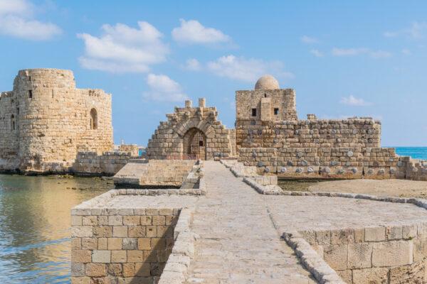 Forteresse de Sidon au Liban