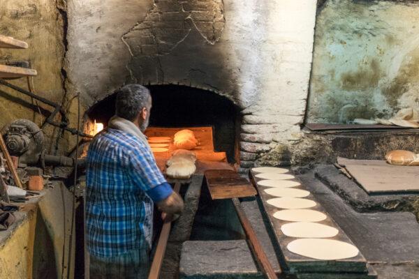 Four à pain à Saïda au Liban