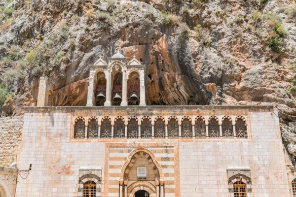 Monastère dans la vallée de la Qadisha au Liban