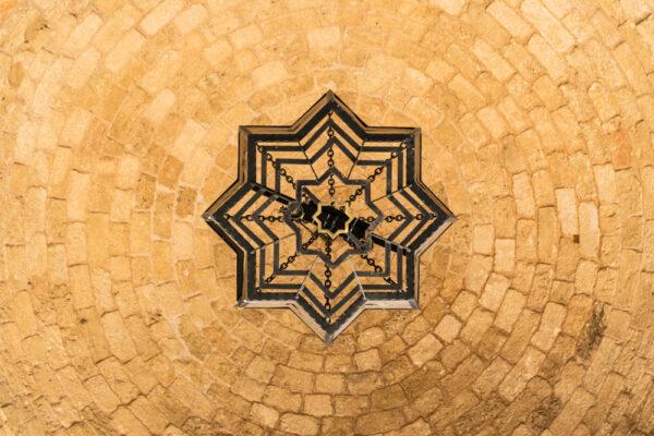 Plafond d'une mosquée de Beyrouth au Liban