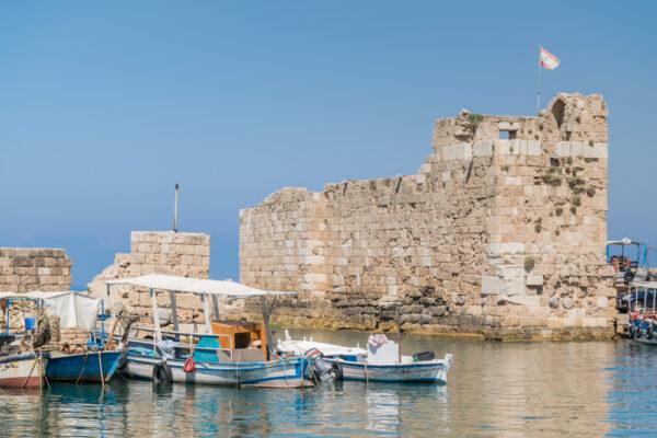Port phénicien de Byblos au Liban