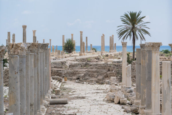 Ruines de Tyr au sud Liban