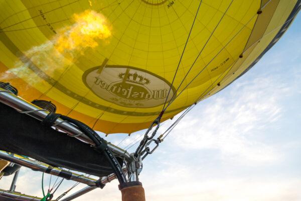 Survol de Majorque en montgolfière