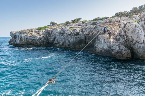 Tyrolienne et coasteering à Majorque