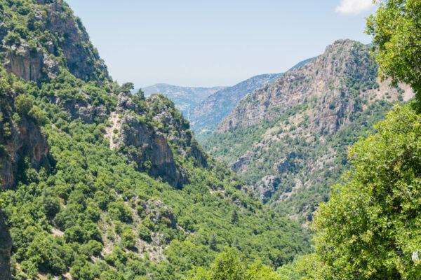 Vallée de la Qadisha au Liban